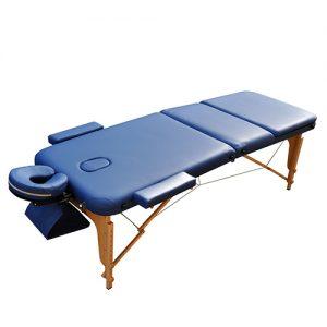 Массажный стол ZENET ZET 1047 NAVY BLUE разобранный
